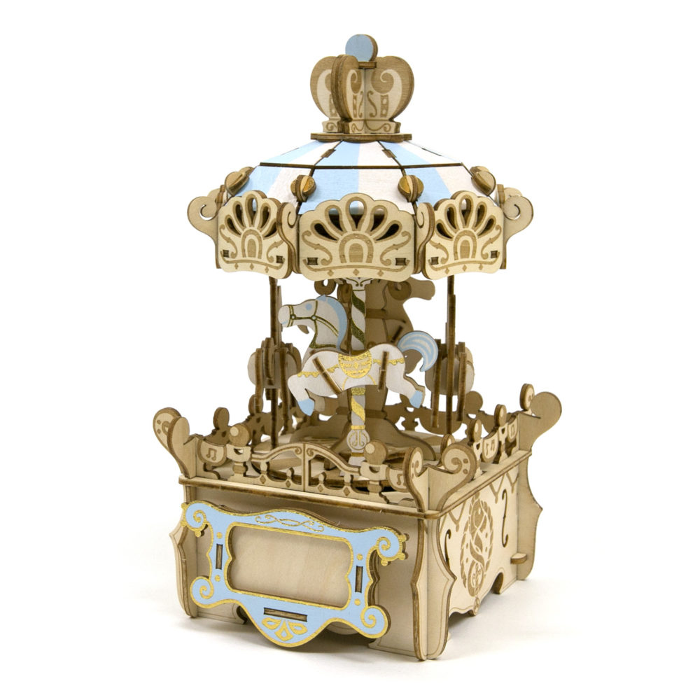 Merry-go-round with Music Box