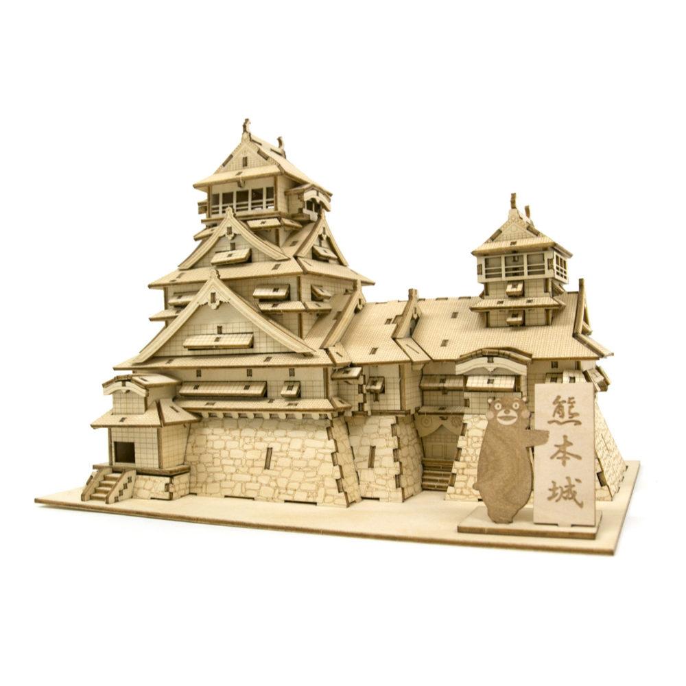 Kumamoto Castle & kumamon