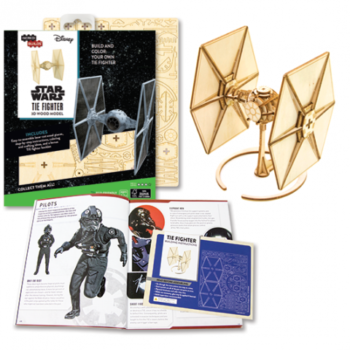 Incredibuilds 3D Puzzle Star Wars Tie Fighter