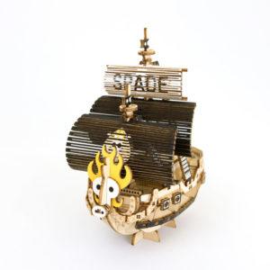 新製品ki Gu Mi ワンピースシリーズ スペード海賊団の海賊船 Azone エーゾーン
